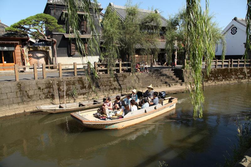 小野川的觀光船之旅